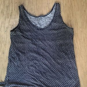 🎪5 for 25 Sun washed soft Loft patterned tank